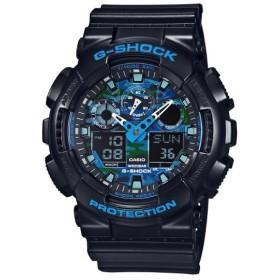 カシオ 腕時計 ブルー GA-100CB-1AJF [GA100CB1AJF]