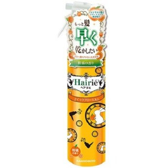ヘアリエ クイックブローミスト 柑橘の香り(本体) ヘアスタイリングヘアミスト