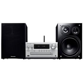 パナソニック Panasonic ハイレゾ音源対応 CDステレオシステム SC-PMX100-S シルバー 新品 送料無料