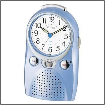 シチズン 4SE521-004 目覚まし時計 伝言くんルージュW