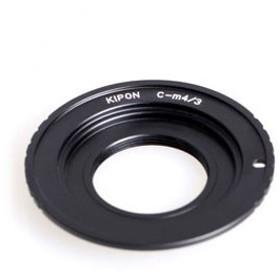KIPON マウントアダプター C-M4/ 3 (ボディ側:マイクロフォーサーズ/ レンズ側:C) C-M4/ 3 KIPON 返品種別A