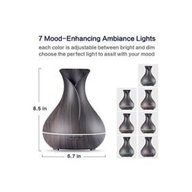 VIVIAN 400ML 超音波方式 加湿器 小型 卓上 アロマ ペットボトル アロマライト静音 空気清浄機 7色変換 LED マルチ色 芳香器 各