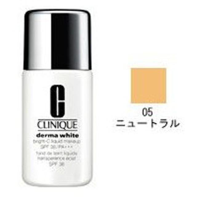 CLINIQUE クリニーク ダーマ ホワイト ブライト-C リキッド メークアップ 38 #05 ニュートラル