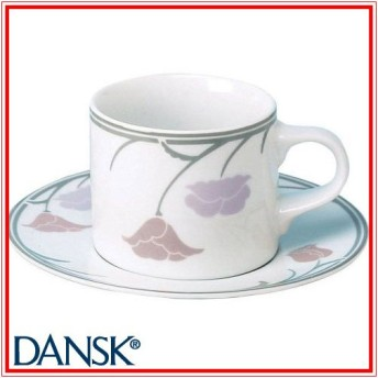 DANSK(ダンスク) 08370BYピンクチボリ コーヒーC/S