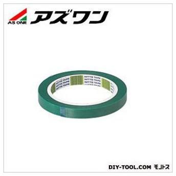 アズワン マスキングテープ 緑 9mm×0.1mm×30m 6-6394-01 1個