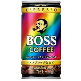 サントリー ボス レインボーマウンテン 185g(30本入)缶 コーヒー