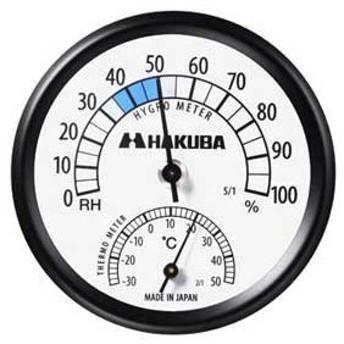 ハクバ 温度計付き湿度計「C-43」 KMC-43 返品種別A