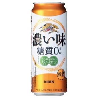【新ジャンル(雑酒)】2ケースまで同梱可★キリン 濃い味 糖質0 500ml缶 1ケース24本入り(500缶)(糖質ゼロ※