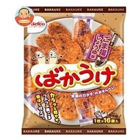 栗山米菓 ばかうけ ごま揚 16枚×12袋入