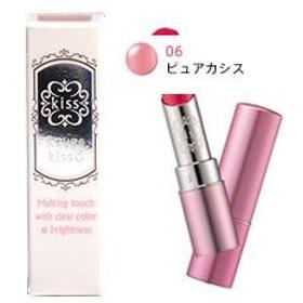 伊勢半 Kiss キス ルージュキスG 口紅 06 ピュアカシス (3.8g)