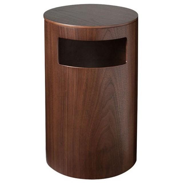 サイトーウッド 木製 テーブル&ダストボックス ウォールナット 990WN WGM2601