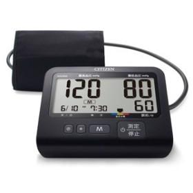 シチズン 上腕式血圧計 CITIZEN CHU502-BK 返品種別A