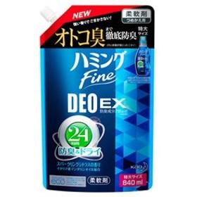 花王 ハミングファイン デオドラントEX スパークリングシトラスの香り 特大サイズ つめかえ用 (840mL) 詰め替え用 柔軟剤