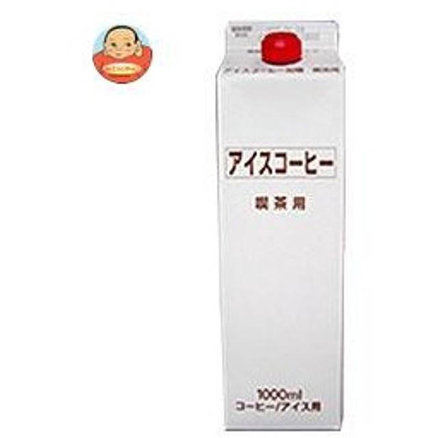 ティーランド アイスコーヒー加糖 1000ml紙パック×12本入