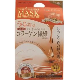 ジャパンギャルズ ピュアファイブエッセンスマスク(WCO) 10枚入×2袋