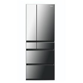 パナソニック 6ドア冷蔵庫(550L) NR-F553HPX-X [オニキスミラー]