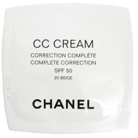 定形外送料無料 シャネル CHANEL CC クリーム 50 20 ベージュ(ミニサイズ)