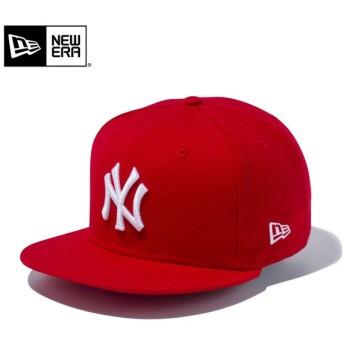 【メーカー取次】 NEW ERA ニューエラ 9FIFTY ニューヨーク・ヤンキース スカーレット 12336618 キャップ メンズ 帽子 メジャーリーグ 野球