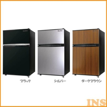 冷蔵庫 一人暮らし ミニサイズ おしゃれ 一人暮らし 2ドア 冷凍 冷蔵 家庭用 小型 コンパクト 静音 大容量 ノンフロン 90L