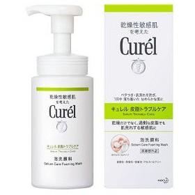 キュレル/皮脂トラブルケア 泡洗顔料 洗顔料