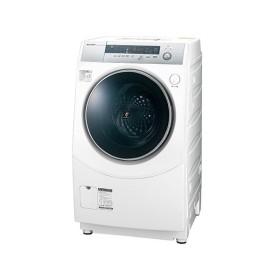 シャープ 10kgドラム式洗濯乾燥機 ES-H10B-WL [左開き]