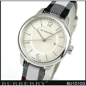 BURBERRY バーバリー BU10103 海外モデル レディース 腕時計 アナログ ベージュ 銀 シルバー 革バンド レザー
