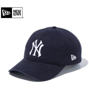 【メーカー取次】 NEW ERA ニューエラ 9TWENTY Cloth Strap ウォッシュドコットン ニューヨーク・ヤンキース ネイビー 11308520 キャップ【Sx】