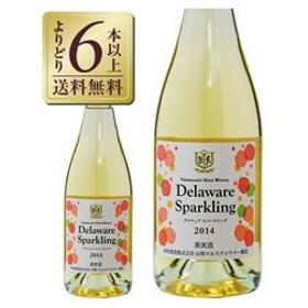 スパークリングワイン 国産 山梨マルスワイナリー デラウェア スパークリング 2015 750ml 日本ワイン sparkling wine