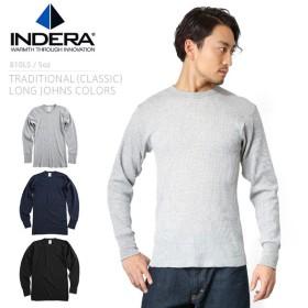 セール15%OFF!INDERA MILLS インデラミルズ 810LS サーマル メンズ ミリタリー インナー 長袖 Tシャツ ロンT 無地 ブランド