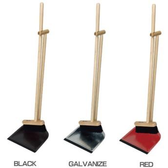 ほうき ちりとり 掃除用具セット おしゃれ Clean House ウッド ブルームダストパン A010BK A010GA A010RD 現代百貨 おしゃれ 箒 チリトリ