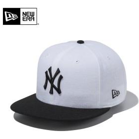 セール20%OFF!【メーカー取次】 NEW ERA ニューエラ 9FIFTY ニューヨーク・ヤンキース ホワイトXブラック 11308463 キャップ メンズ 帽子 メジャーリーグ 野球