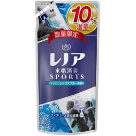 【10%増量品♪】 レノア 本格消臭 スポーツ フレッシュシトラスブルーの香り つめかえ用 (500ml) 柔軟剤