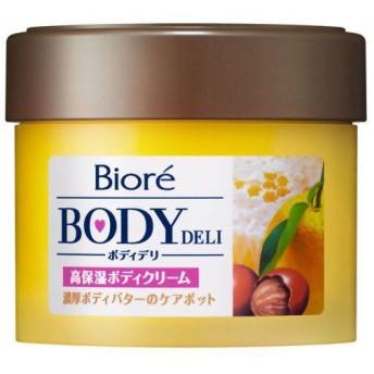 ビオレ ボディデリ 濃厚ボディバターのケアポット はちみつ&ゆずの香り 220g