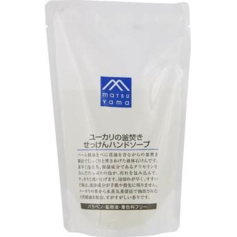 松山油脂 M-mark ユーカリの釜焚きせっけんハンドソープ 詰替用 280ml