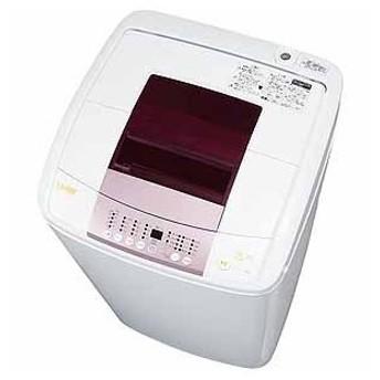 (長期無料保証/標準設置無料) ハイアール 全自動洗濯機 JW-KD55B(W) ホワイト 洗濯容量:5.5kg