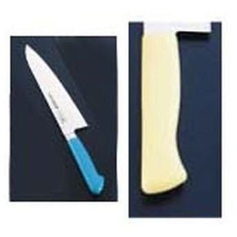 ハセガワ 抗菌カラー庖丁 牛刀 18cm MGK-180 イエロー AKL0918YE