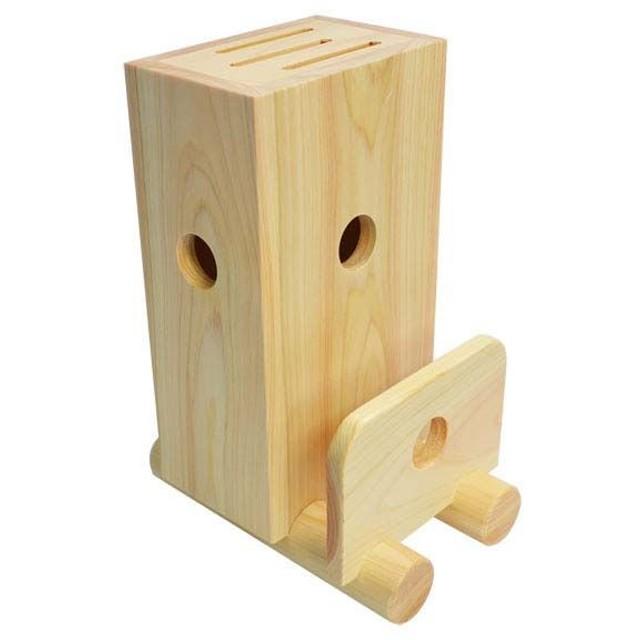 木製 包丁・まな板立て 天然木 おしゃれ