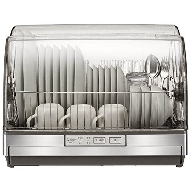 三菱 キッチンドライヤー 食器乾燥器  ステンレスグレー TK-ST11-H