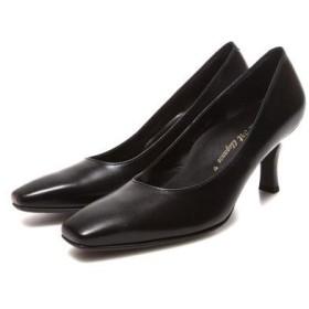 ビューフォートエレガンス BeauFort elegance Eウイズウォーキングパンプス(ブラック)