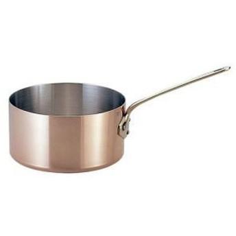 カパーイノックス 片手深型鍋 (蓋無) 14cm 652014