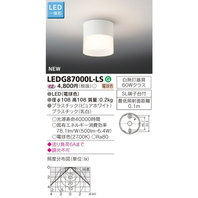 限定在庫1台 東芝 LEDG87000LLS 『LEDG87000L-LS』照明器具 LED シーリングライト