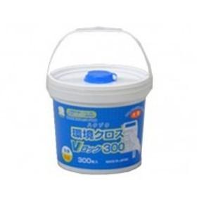 ハクゾウメディカル 除菌用ウエットクロス ハクゾウ環境クロスVロック 大判詰め替え用 300枚 3394064