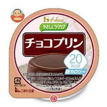 ハウス食品 やさしくラクケア 20kcal チョコプリン 60g×48(12×4)個入