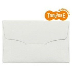 TANOSEE 名刺型封筒 112×70mm タント 116.3g 1パック(10枚)