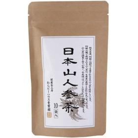 日本山人参茶ティーバッグ 2g×10袋 代引不可