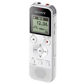 ソニー リニアPCM対応ICレコーダー4GB内蔵+外部マイクロSDカードスロット搭載(ホワイト) SONY ICD-PX470F W 返品種別A