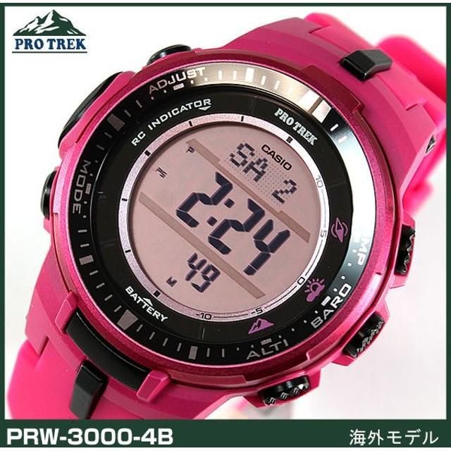 ff8e67d3ab BOX訳あり カシオ プロトレック レディース メンズ 腕時計 PRW-3000-4B 海外モデル