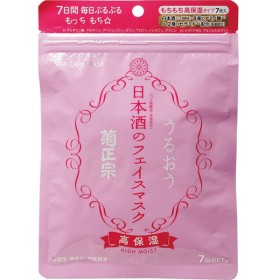菊正宗酒造 日本酒のフェイスマスク 高保湿 7枚