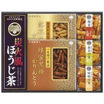 緑茶・かりんとう・あられ詰合せ TCB-30 TCB−30 ギフト(代引き不可)