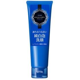 アクアレーベル/ホワイトクリアフォーム(ほのかなローズミストの香り) 洗顔料